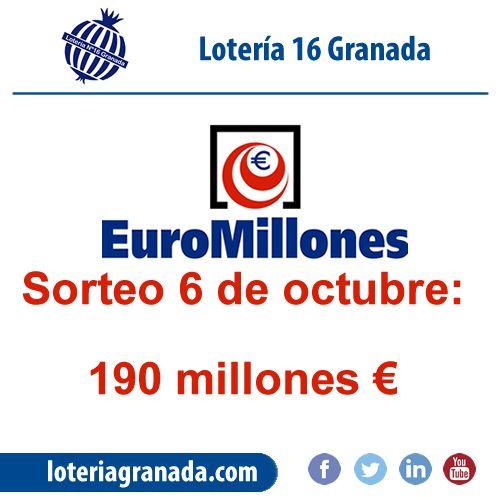 Siguen los 190 millones del euromillon esperándote en  ➡http://qoo.ly/iauky⬅ no los dejes escapar!!