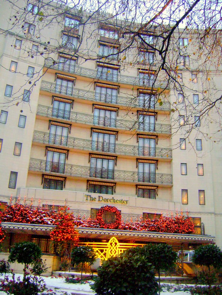 The Dorchester Hotel, Mayfair, London. http://www.dorchestercollection.com/en/london/the-dorchester http://www.tripadvisor.com/Hotel_Review-g186338-d187992-Reviews-The_Dorchester-London_England.html  #RePin by AT Social Media Marketing - Pinterest Marketing Specialists ATSocialMedia.co.uk