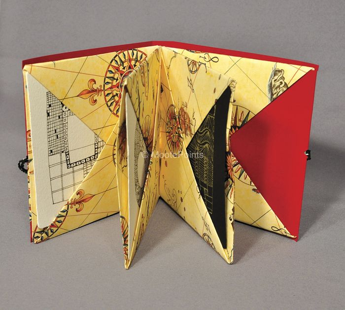 Origami Pocket book from Moote Points /Artenotas/cuadernos ...