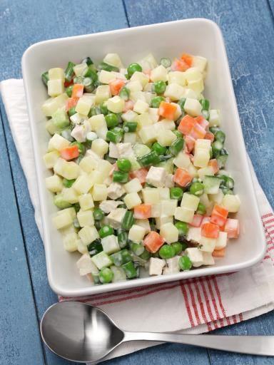 Macedoine de légumes : Recette de Macedoine de légumes - Marmiton