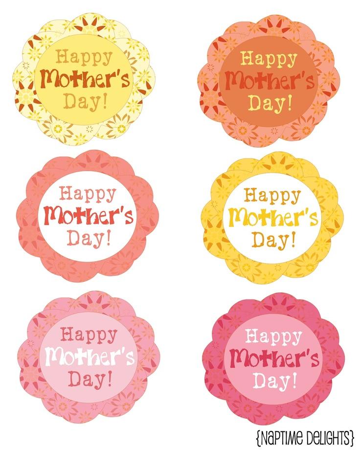 mother 39 s day gift tag printables pinterest. Black Bedroom Furniture Sets. Home Design Ideas