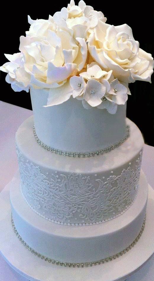 Красно белые свадебные торты - фото 5237623 Арт-кондитер Наталья Татаринова