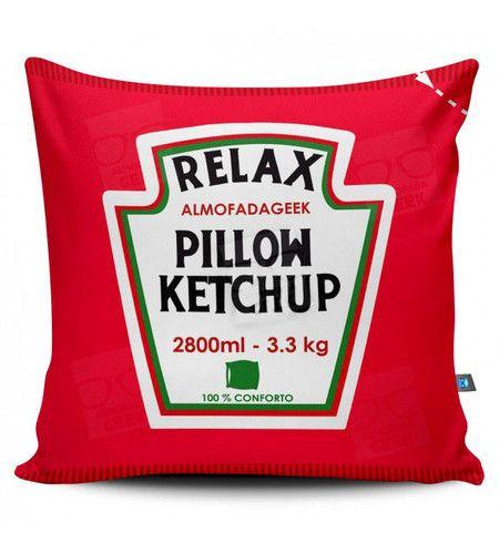 Almofada Criativa Ketchup Heinz
