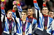 Team GB gymnasts....first medal in over a century
