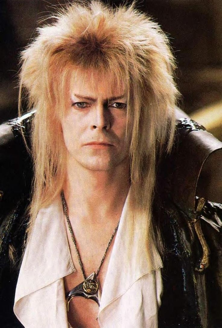 David Bowie in my all time favorite movie. The Labyrinth.