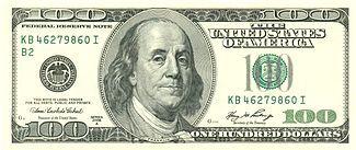 100ドル紙幣にもなっている偉大なベンジャミン・フランクリン。