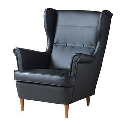 Leather Sofas - Traditional & Contemporary - IKEA - Strandmon Wing Chair