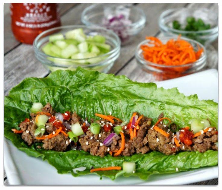 {Easy} Slow Cooker Korean Beef Lettuce Wraps