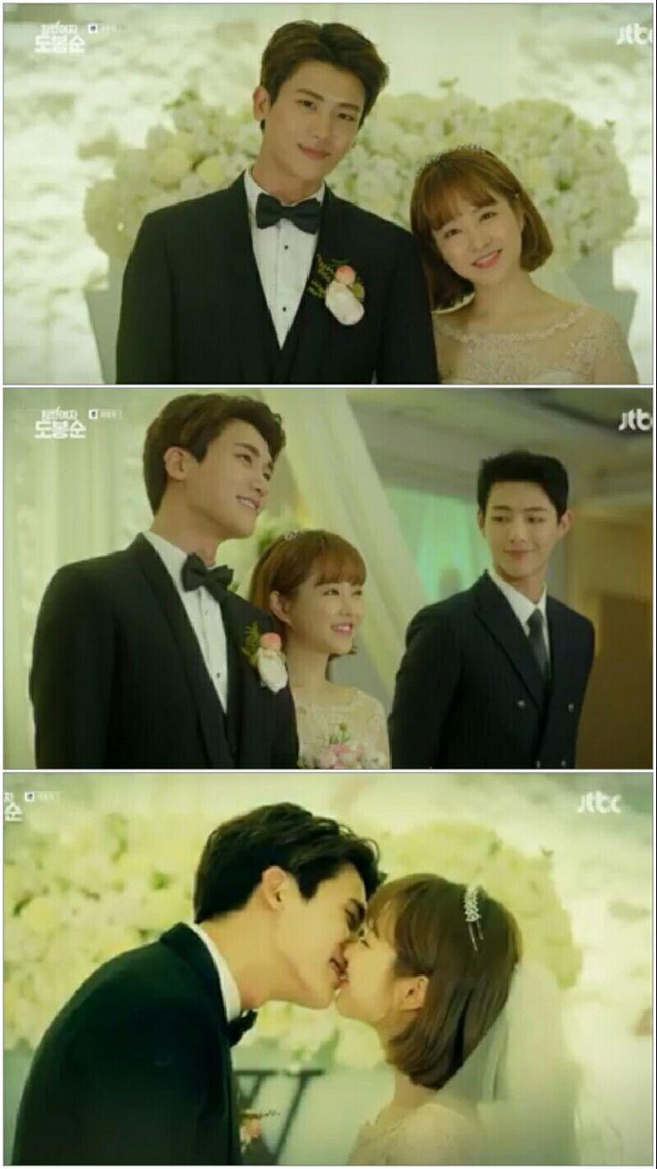 Bong Soon and Min Hyuk's Wedding #SWDBS