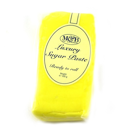 M Lemon Luxury Ready To Roll Sugarpaste 500g
