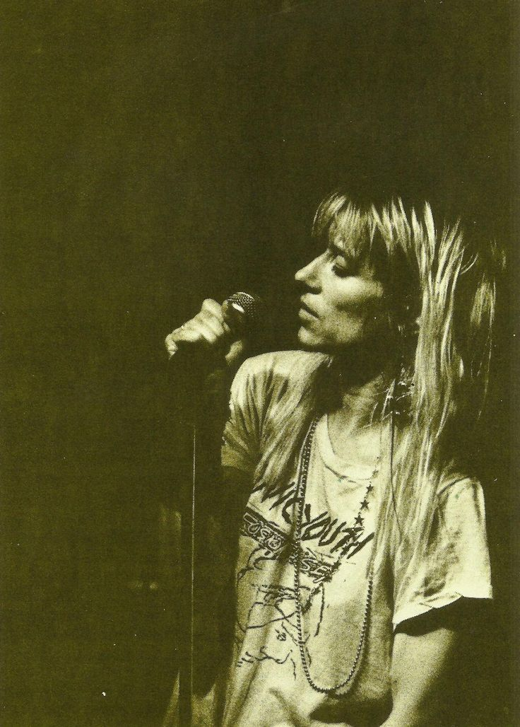 Kim Gordon (Sonic Youth) #camperbabe