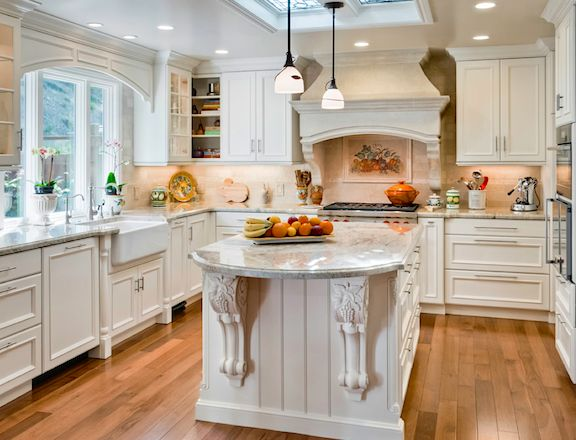 White Kitchen | Rutt Of Los Altos