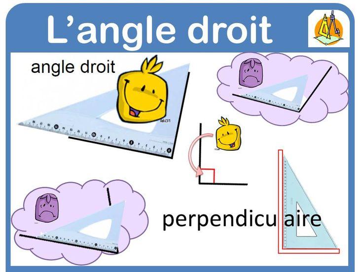 affichages maths - la Fouine en clis angle droit                                                                                                                                                                                 Plus