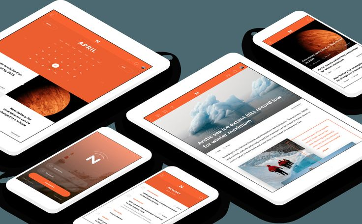 Meet NOW – Free Cross-Platform UI Kit For Web, Tablet, and Mobile