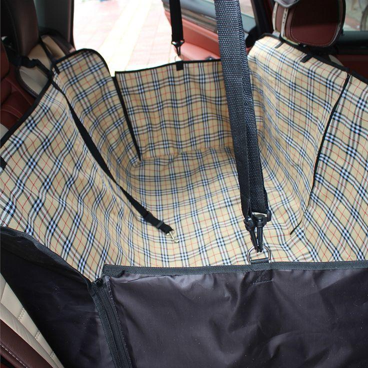 Автомобиль животное Чехлы Коврики Гамак Собака сумка для хранения Аксессуары для салона 2 цвета автомобиль-Стайлинг Оксфорд Водонепроницаемый