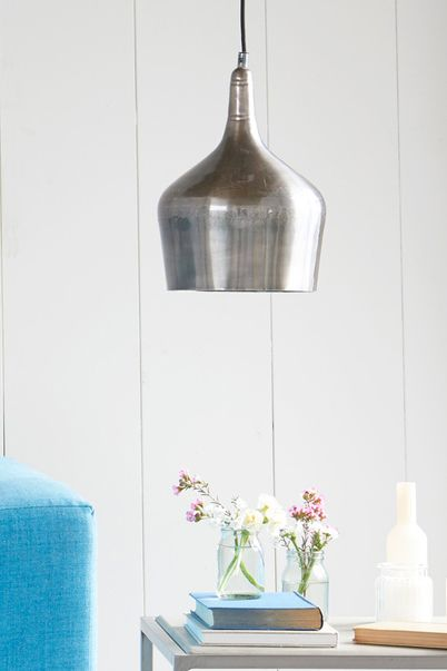 The inspiration for this pewter pendant came from a Moroccan tagine pot. Ethnic meets industrial. Whit-woo!