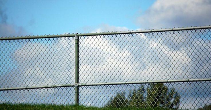 """Como fazer uma cerca de alambrado feia ficar mais bonita. O provérbio de Robert Frost, """"boas cercas fazem bons vinhos"""", pode não estar correto, principalmente se a cerca em questão for um alambrado muito feio. Os alambrados são utilizados para prender cachorros e como cercas de proteção em piscinas, além de serem populares devido ao preço relativamente barato. Feitos de telas de arame galvanizado e ..."""