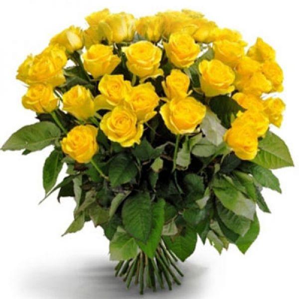 Květinové Taxi - AKCE - Žluté růže za 49,-