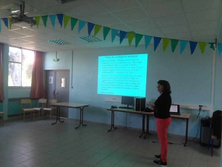 """En el """"collège Virebelle"""" ; explicamos las diferencias con un INS..."""