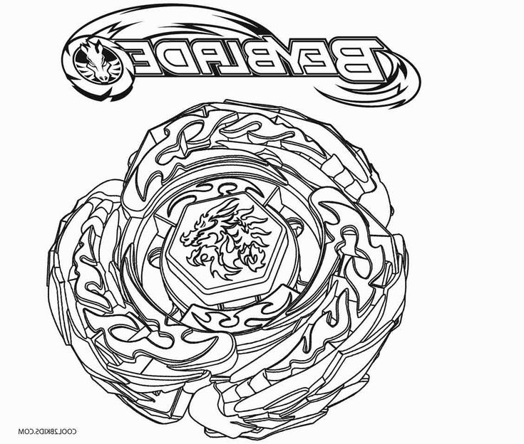 Beyblade Coloring Pages Coloring