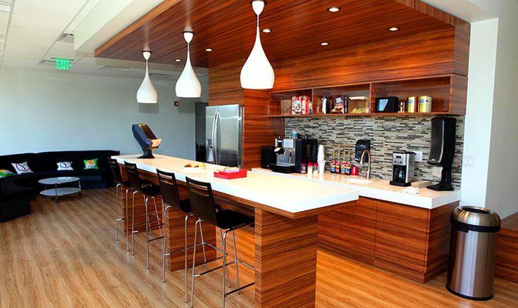 Office Coffee Bar yogurtland   froyo hq   pinterest   coffee bar design