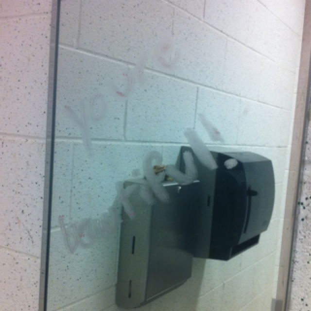 somebody at school took rachels challenge