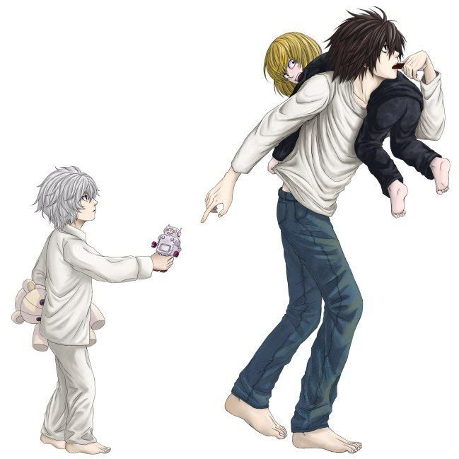 L is the best!! (Mello and Near also, of course)