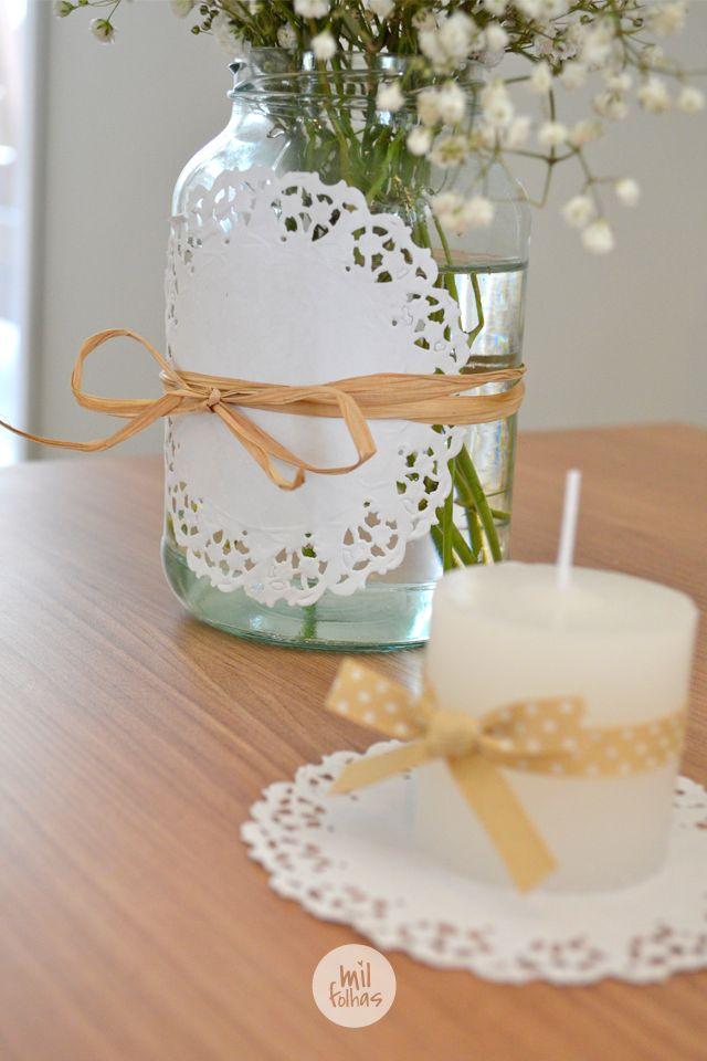 25 melhores ideias sobre batismo no pinterest batizado - Decoracion rustica barata ...