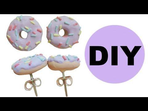 DIY: Fairy Kei Donut Earrings !?