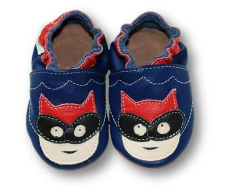 ekoTuptusie Superbohater Granat Soft Sole Shoes Super Hero Navy Les chaussures pour enfants Krabbelshuhe Crib Shoes https://www.fiorino.eu/sklep/