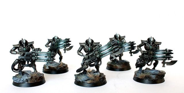 Showcase: Necron Immortals - Tale of Painters