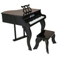 Schoenhut Black Baby Grand Piano
