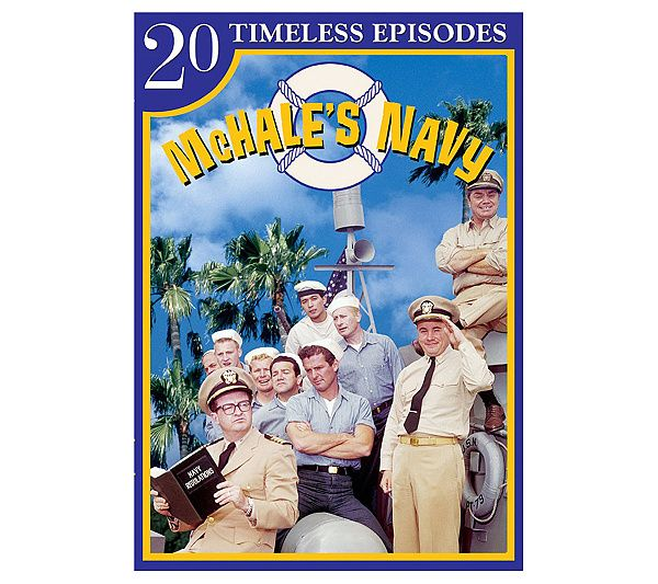 Classic TV comedy never goes out of style. Twenty episodes of the beloved 1960's series McHale's Navy are included in this set, which makes a great addition to any TV lover's collection.
