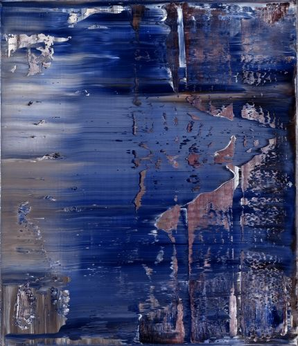 Gerard Richter - Abstract Painting 1995 71 cm x 61 cm Oil on canvas Catalogue Raisonné: 835-5
