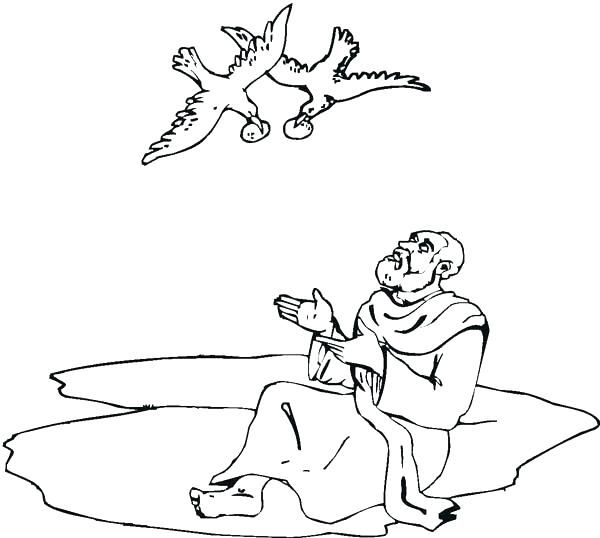 Interesting Elijah Coloring Pages Bible Coloring Pages Bible Story