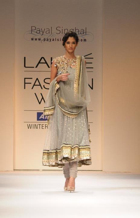 A A I N A - Bridal Beauty and Style: Designer Bride: Payal Singhal at Lakme Fashion Week 2011