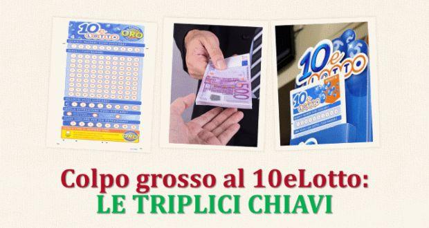 Colpo grosso al 10eLotto: LE TRIPLICI CHIAVI   Estrazioni del Lotto di oggi 30/05/2017, estrazioni del 10eLotto di oggi del 30/05/2017, estrazioni del Superenalotto di oggi del 30/05/2017, estrazioni del 10elotto ogni 5 minuti di oggi del 30/05/2017