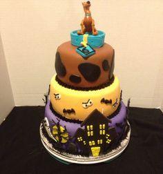 Scooby doo birthday cake                                                       …