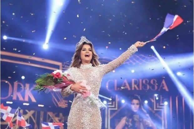 """Viene de ser Miss República Dominicana Universo,  y ahora Clarissa Molina se ha convertido en Nuestra Belleza Latina.  La clave: la perseverancia.  """"Gracias al público que votó,  porque esta"""