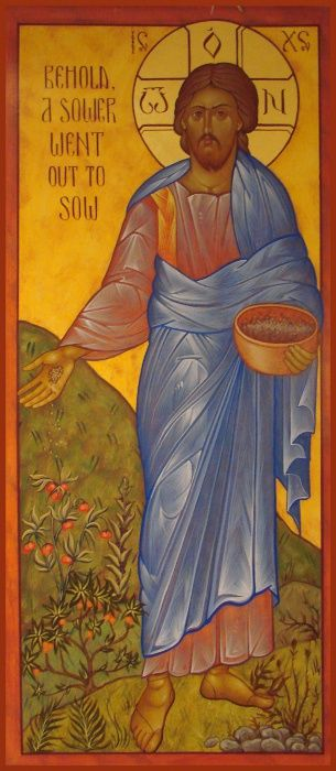 Christ the sower of seeds.
