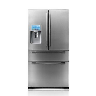 SAMSUNG RF4289HBRS 28 cu.ft 4-Door French Door Wi-Fi Refrigerator Stainless Steel