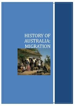 Explore the History of Australia through its waves of Migration and the reasons peoples, from across the globe, dared to leave family friends and the familiar for the uncertainty of an unknown world. I have included the study of Human Rights in this unit, as Human Rights are intrinsically linked with migration.The starting point for students is to explore their own Family History, to find out when, why and how their ancestors came to migrate to Australia.CONTENTS: Immigration 1800s…