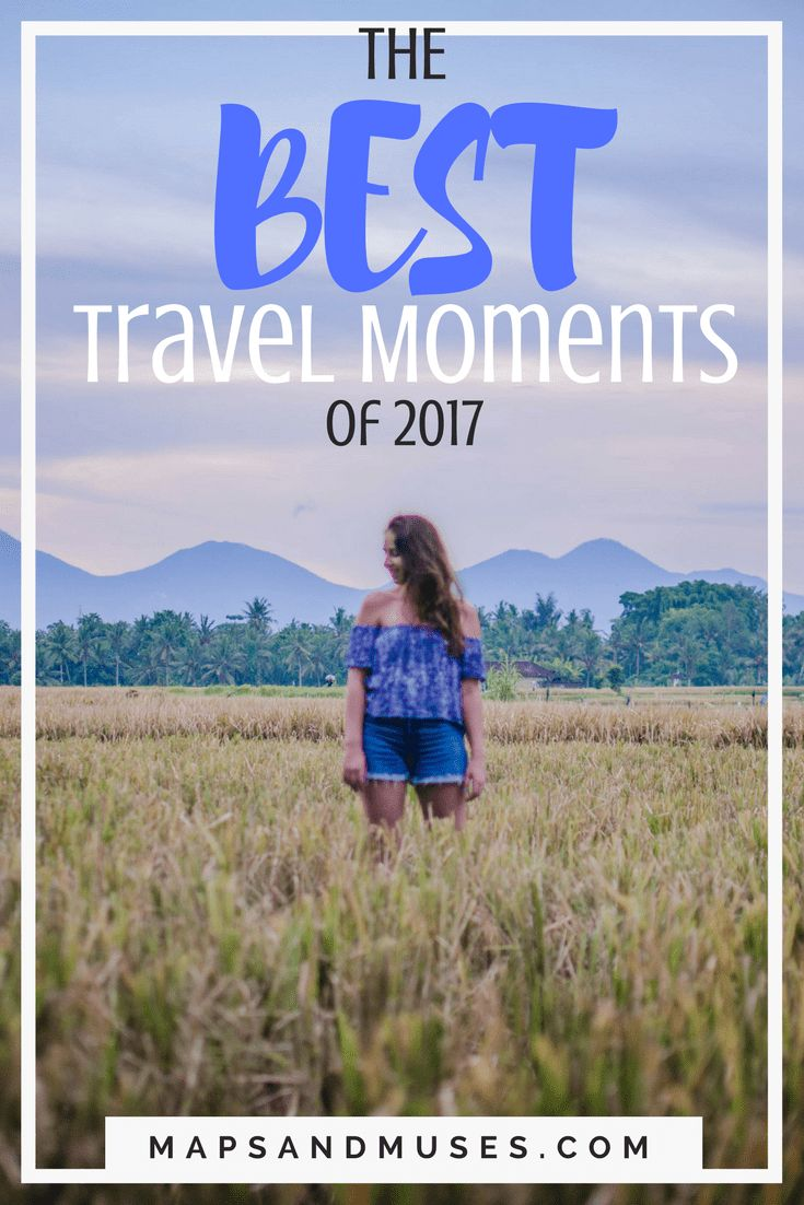 2017 is over so it's time to reflect on my best travel moments of 2017. I hope these moments inspire your travels in 2018. Read more here: https://www.mapsandmuses.com/my-best-travel-moments-of-2017/ | Best Travel Destinations | Travel Destinations | Travel Inspiration | Puerto Rico | Thailand | Bali | Indonesia | Mexico | Honduras | Cruise | Prague #travelblog #traveltuesday