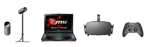 MSI VR Ready GE62VR Apache Pro026 156 Powerful Gaming Laptop  Oculus Rift  Virtual Reality Headset   Bundle -- You can get additional details at the image link.Note:It is affiliate link to Amazon.