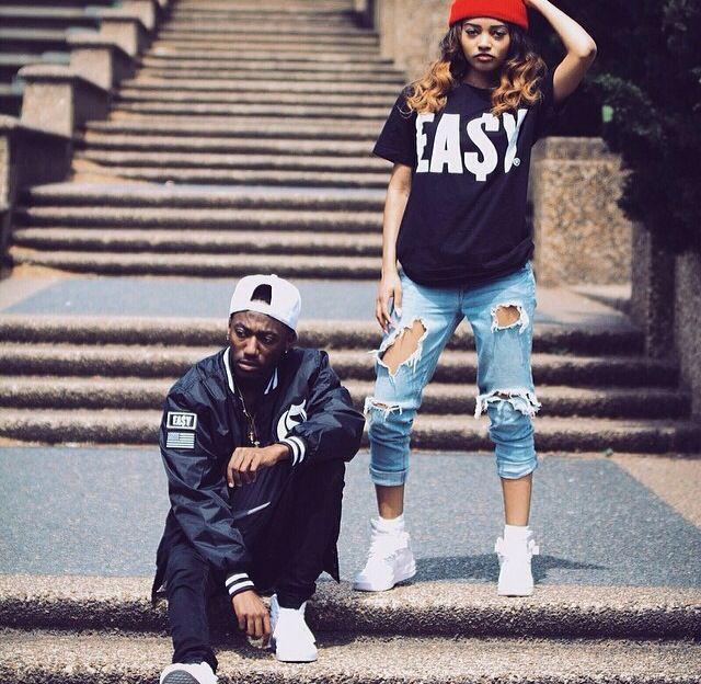 Streetwear. Dope couple. Urbanwear. Fresh. Black Fashion ...