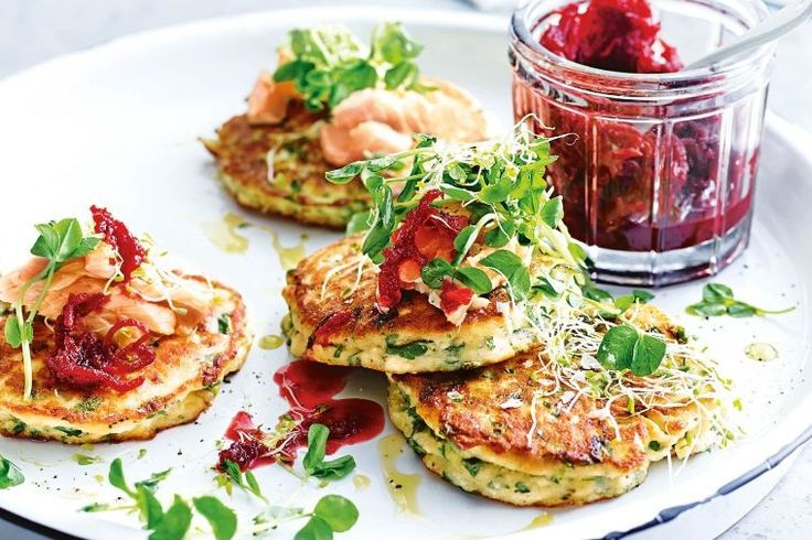 Create these gourmet fritters for a wonderful spring time dining experience.