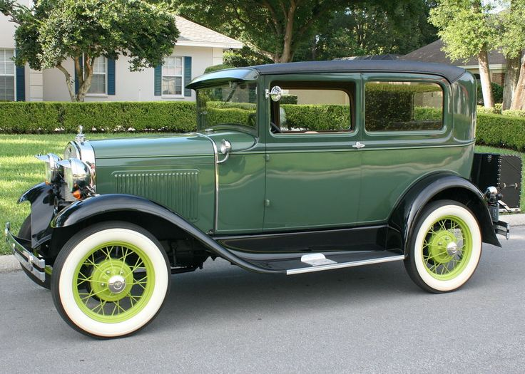 Old car photo classic ford car art for man cave masculine