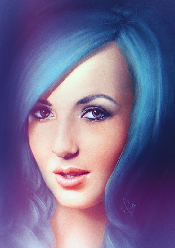Jessica Nigri | Eugene Gore // Follow Artist on Facebook // Behance   More Eugene Gores Artworks