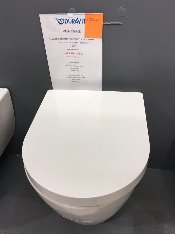 Duravit kompakt vegghengt toalett