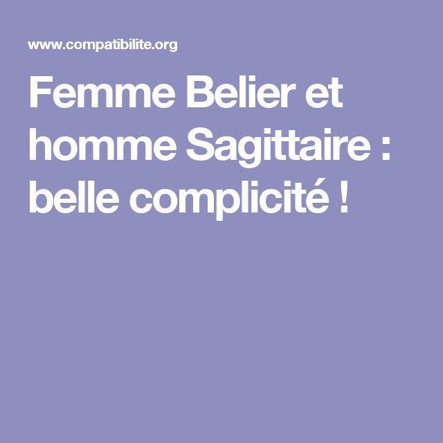 Femme Belier et homme Sagittaire : belle complicité !